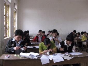 Dối trá tình trạng thi nghề của HS lớp 12 - 1