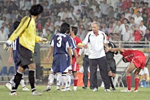 U21 Thái Lan làm loạn trên sân - 1