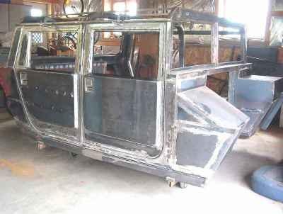 Biến xe Ford F150 thành Hummer H1 - 4