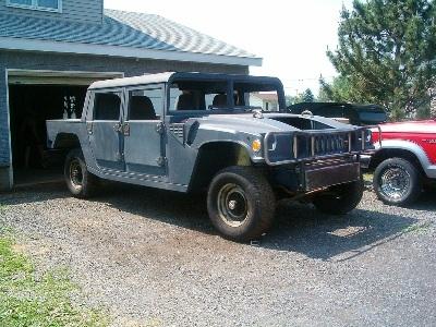 Biến xe Ford F150 thành Hummer H1 - 7