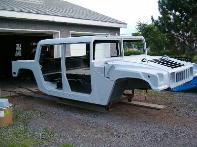 Biến xe Ford F150 thành Hummer H1 - 8