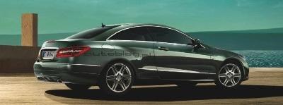 Hình ảnh chính thức đầu tiên của Mercedes E500 Coupe  - 2
