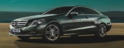 Hình ảnh chính thức đầu tiên của Mercedes E500 Coupe  - 1