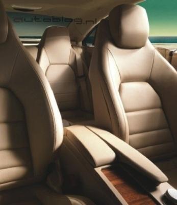 Hình ảnh chính thức đầu tiên của Mercedes E500 Coupe  - 3