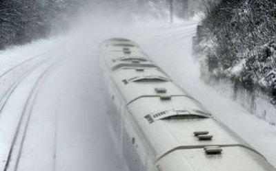 Giao thông nước Anh trong bão tuyết - 13