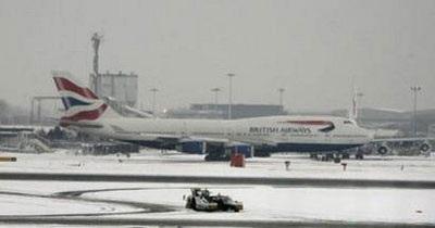 Giao thông nước Anh trong bão tuyết - 12