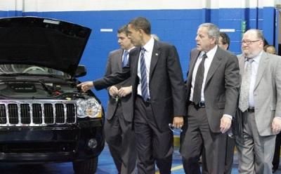 Tổng thống Mỹ hạ lương lãnh đạo GM và Chrysler  - 1