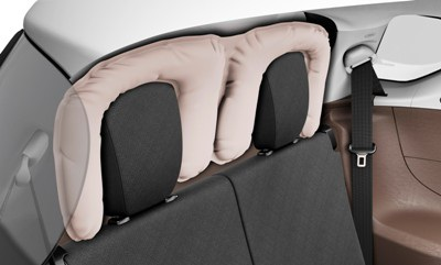 Toyota phát triển loại túi khí mới - 1