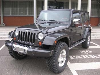 "Jeep Wrangler Ultimate - ""Hàng khủng"" tại SEMA 2007 - 2"