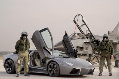 """Lamborghini Reventón """"so tài"""" với máy bay phản lực  - 3"""