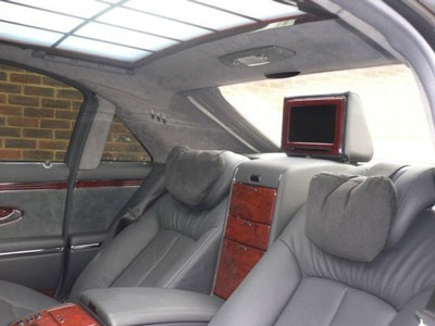 Limousine Maybach: Giá đắt gấp đôi - 4