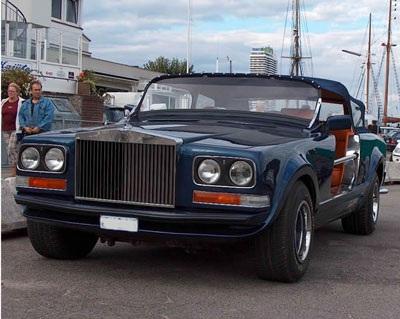 Độ xe Rolls-Royce để…đi săn - 1