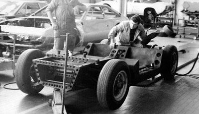 Tìm thấy khung xe Lamborghini Miura Turin Salon - 1