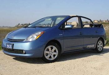 Ý tưởng mui xếp cho xe Toyota Prius   - 1