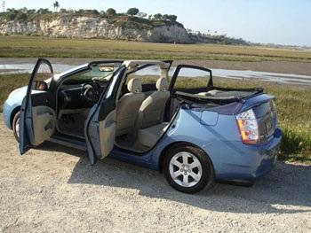 Ý tưởng mui xếp cho xe Toyota Prius   - 3