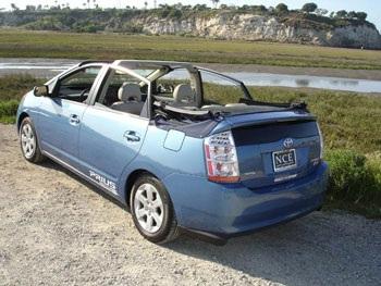 Ý tưởng mui xếp cho xe Toyota Prius   - 4
