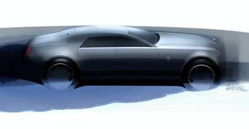 Hình ảnh đầu tiên về kiểu dáng xe Rolls-Royce RR4 - 1