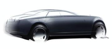 Hình ảnh đầu tiên về kiểu dáng xe Rolls-Royce RR4 - 2