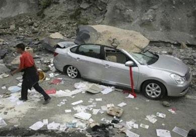 Ô tô trong động đất - 1