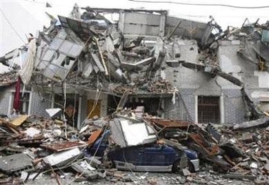 Ô tô trong động đất - 12