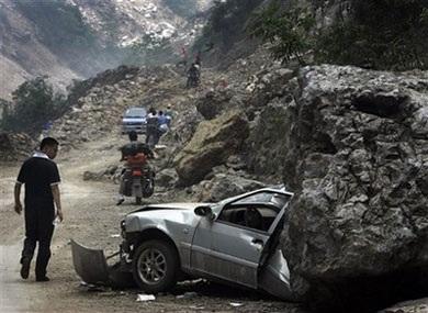 Ô tô trong động đất - 2