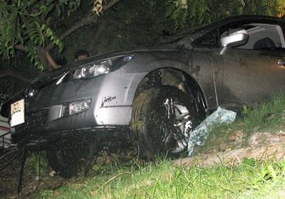 """""""Giải cứu"""" xe Civic rơi xuống sông Tô Lịch  - 8"""