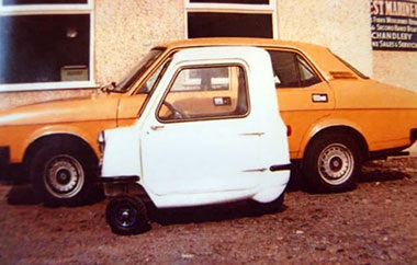 Peel P50 - Mẫu ô tô nhỏ nhất thế giới  - 4