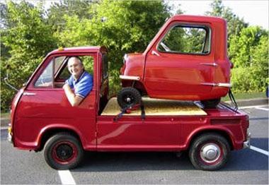 Peel P50 - Mẫu ô tô nhỏ nhất thế giới  - 7