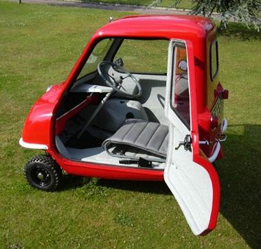 Peel P50 - Mẫu ô tô nhỏ nhất thế giới  - 3