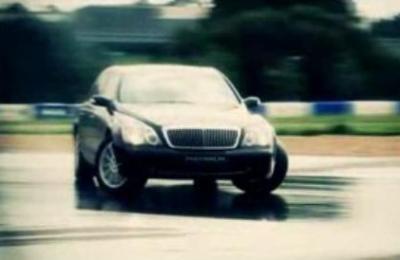 """Drift"" với xe Maybach - 2"