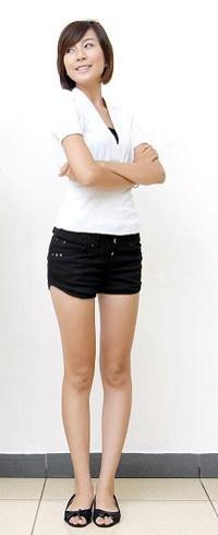 """Ngọc """"xinh"""" - cô học sinh chân dài - 1"""