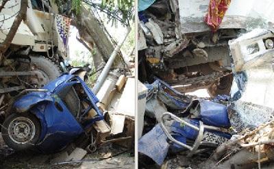 Hà Nội: Tai nạn kinh hoàng trên dốc Lĩnh Nam - 2