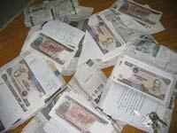 Lạng Sơn: Bắt vụ vận chuyển 80 triệu đồng tiền giả  - 1