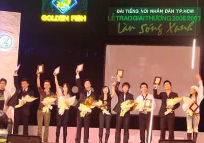 Lễ trao giải Làn sóng xanh 2007: Xuống phong độ! - 2