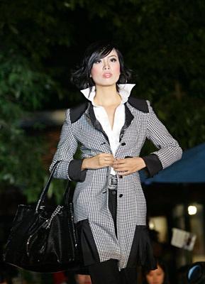 Trần Thị Kim Thanh đoạt giải cao nhất Top Model Casting VN 2007 - 9