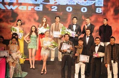 Vũ Thu Phương - Bình Minh: Người mẫu xuất sắc nhất 2008 - 9