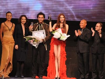 Vũ Thu Phương - Bình Minh: Người mẫu xuất sắc nhất 2008 - 1