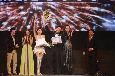 Vũ Thu Phương - Bình Minh: Người mẫu xuất sắc nhất 2008 - 2