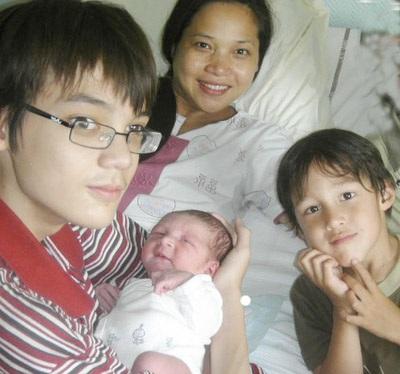 NSƯT Lê Vi sinh con ở tuổi 40  - 2