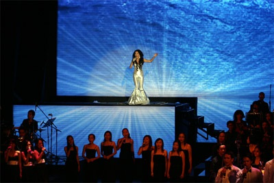 Live show Mỹ Lệ Symphony: Ấn tượng!  - 14