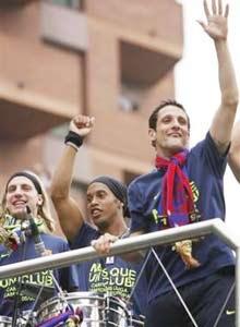 Barca - Cuộc trở về đầy niềm vui - 2