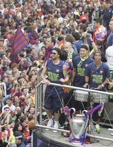 Barca - Cuộc trở về đầy niềm vui - 10