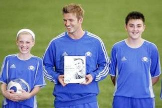 """Beckham:""""Sẽ không quay lại Anh chơi bóng"""" - 1"""