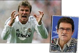 """Bất tuân lệnh Don Fabio, Beckham sớm bị """"ra rìa""""? - 2"""