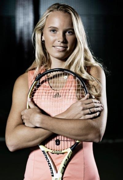 Caroline Wozniacki - Người đẹp mới nổi của làng banh nỉ - 6