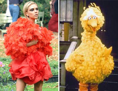 """Vợ Beckham diễn thời trang """"quái dị"""" tại Paris? - 3"""