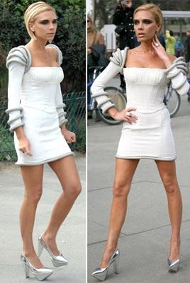 """Vợ Beckham diễn thời trang """"quái dị"""" tại Paris? - 5"""
