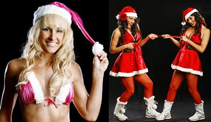 Nữ đấu sỹ hóa thân trong trang phục Noel gợi cảm - 12