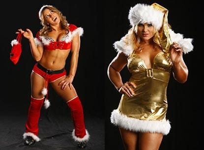 Nữ đấu sỹ hóa thân trong trang phục Noel gợi cảm - 2