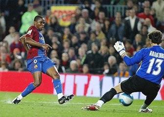 Eto'o lập công giúp Barca thắng ấn tượng - 2